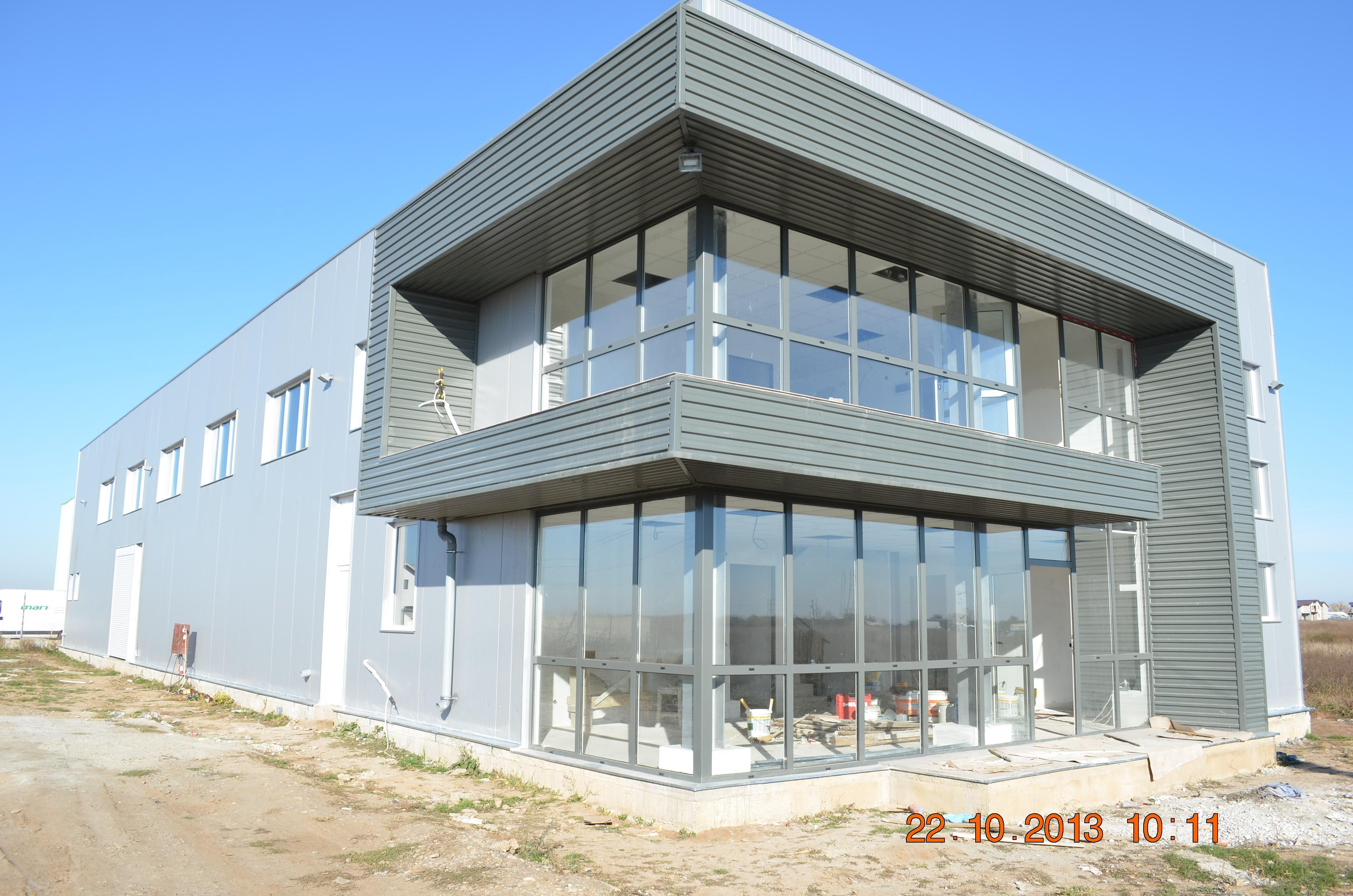 Produktions- und Bürohalle Gemeinde Cârcea, Kreis Dolj